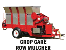 Crop Care Row Mulcher